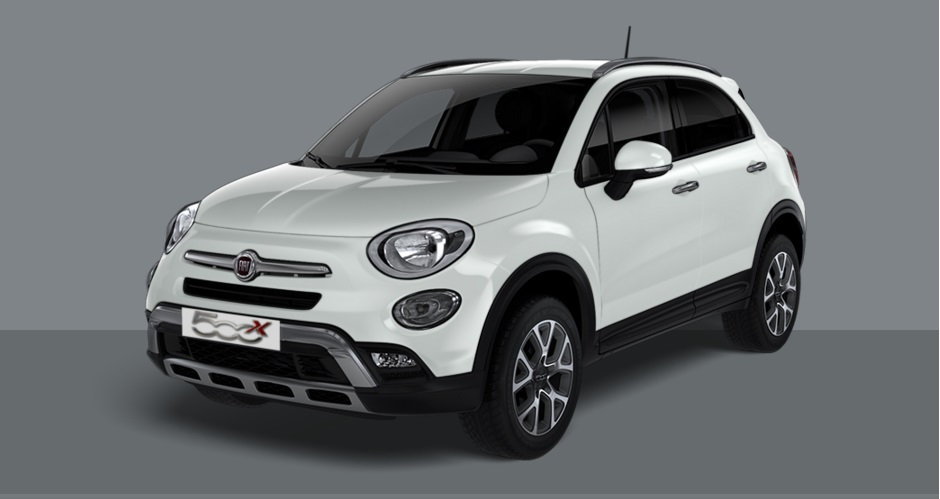 Fiat 500x cross bianca - Crescenzo Automobili